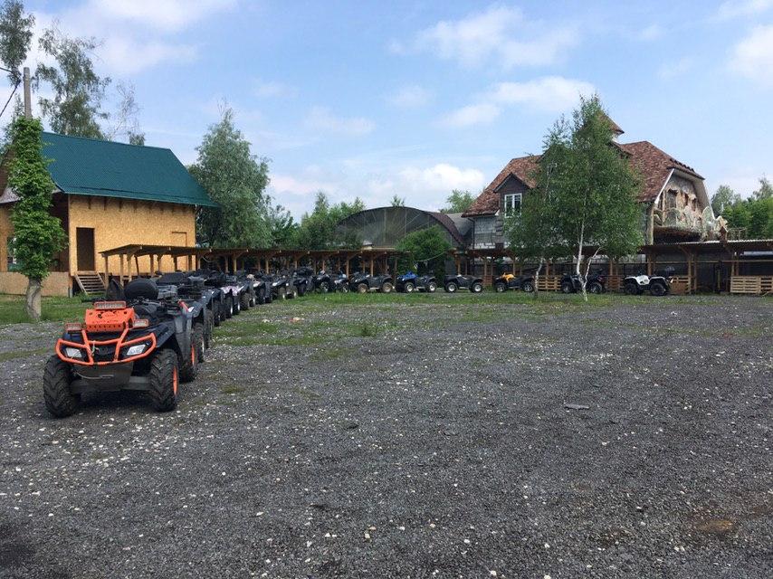 Поездка на квадроциклах в Подмосковье